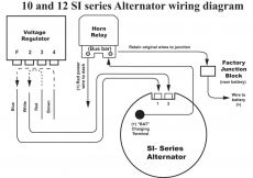Delco 12si Alternator Wiring Diagram - Delco Alternator Wiring Diagram Ac Entrancing 10si 9o