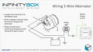 Delco 12si Alternator Wiring Diagram - Lucas 3 Pin Alternator Wiring Diagram Wire for Delco 10si 4 Pleasing 10l