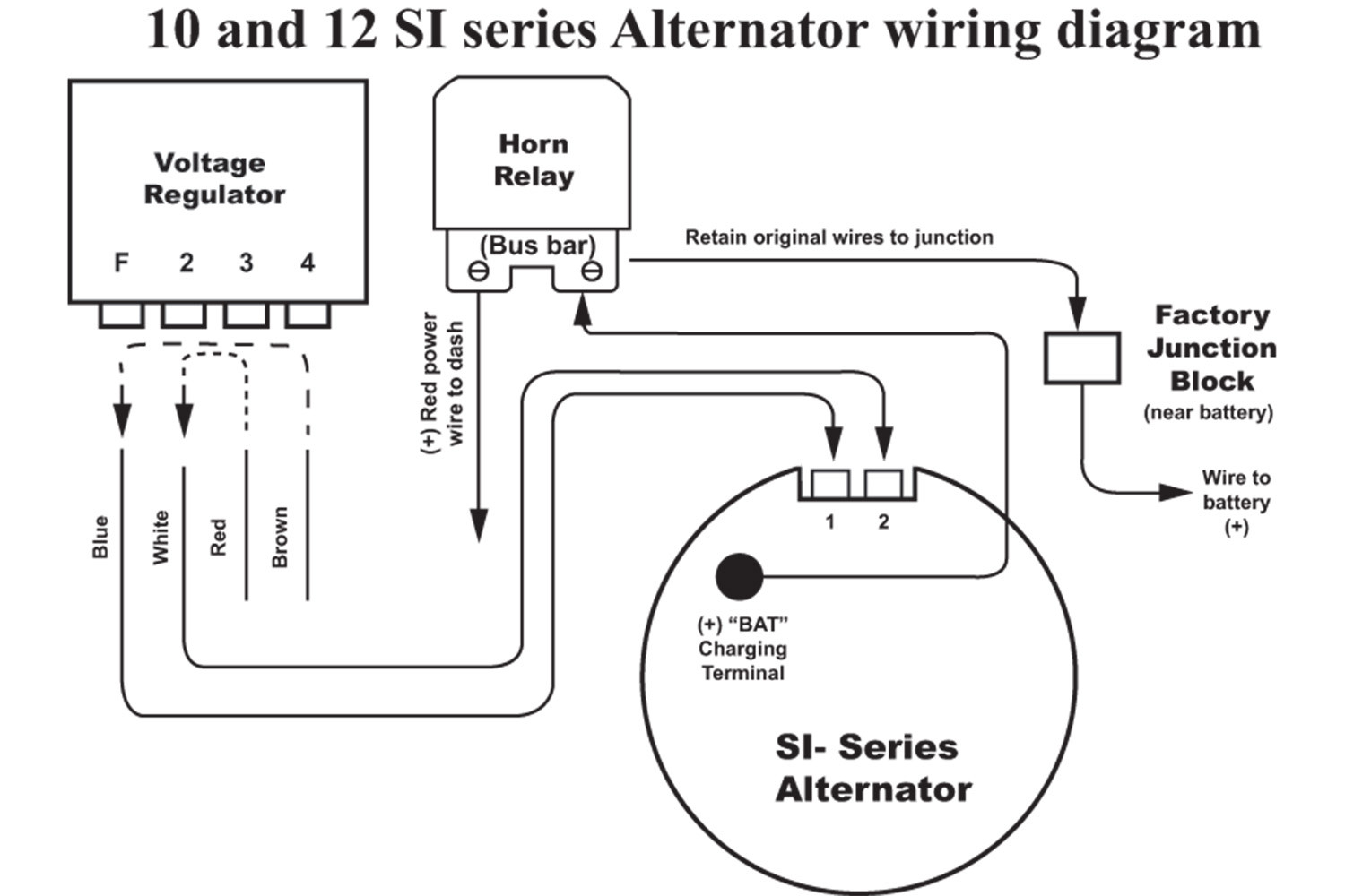 Collection Of Delco Alternator Wiring Diagram Sample