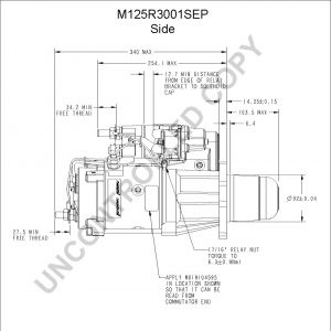 Delco Electric Motor Wiring Diagram - M125r3001sep Side Dim Drawing Output Curve M125r3001sep Output Curve Wiring Diagram 4b