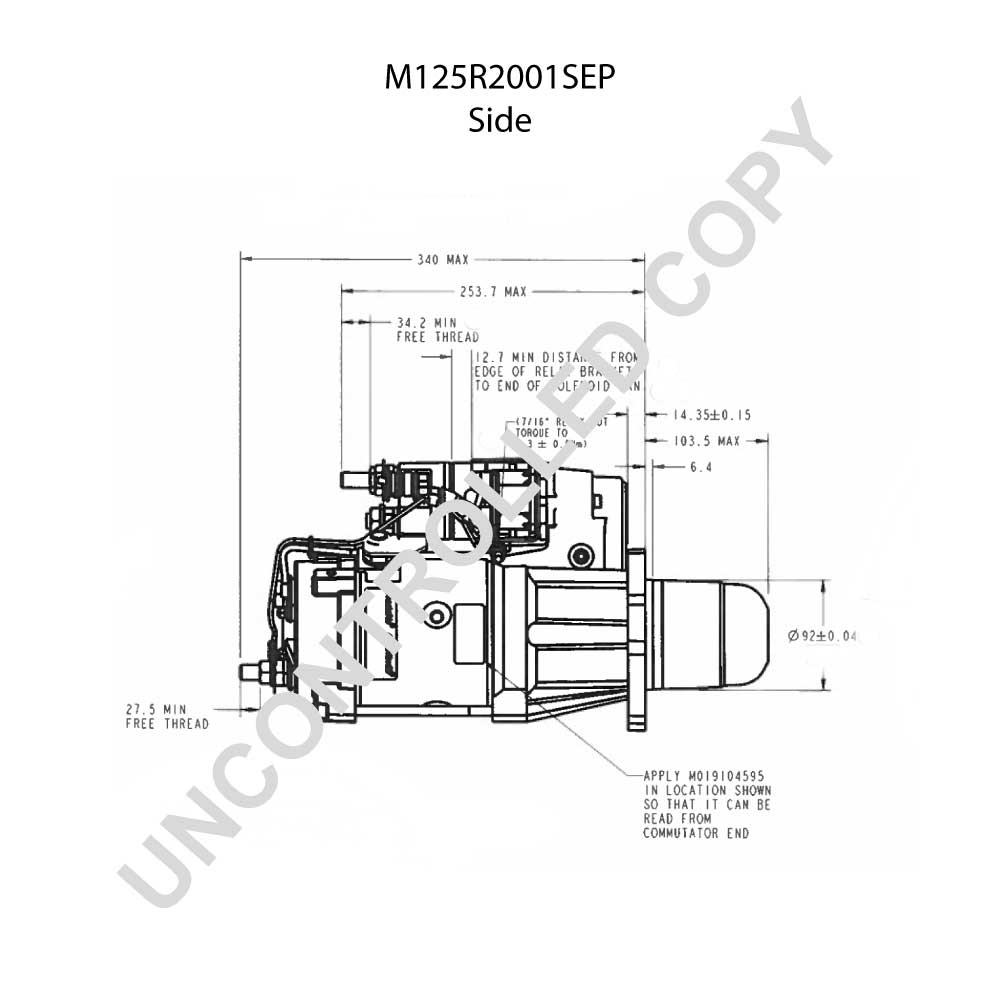 Gallery Of Delco Remy Starter Wiring Diagram Download