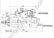 Delco Remy Starter Wiring Diagram - M105r2502se Side Dim Drawing Output Curve M105r2502se Output Curve Wiring Diagram 3p