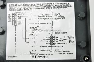 Dometic Digital thermostat Wiring Diagram - Samples Duo therm thermostat Wiring Diagram In Dometic Rv for 16p