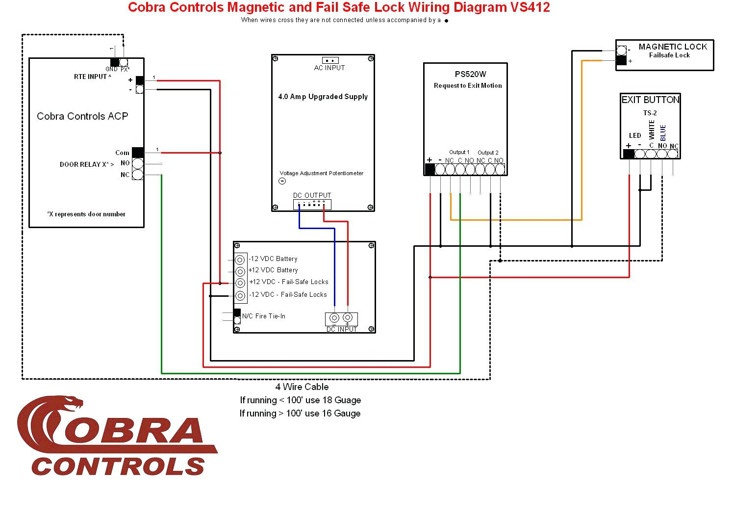 Get Door Access Control System Wiring Diagram Pdf Download