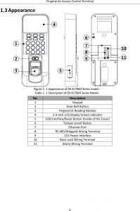 Door Access Control Wiring Diagram - Door Access Control Wiring Diagram Download Page 10 Of K1t803mf Fingerprint Access Control Terminal User 20j