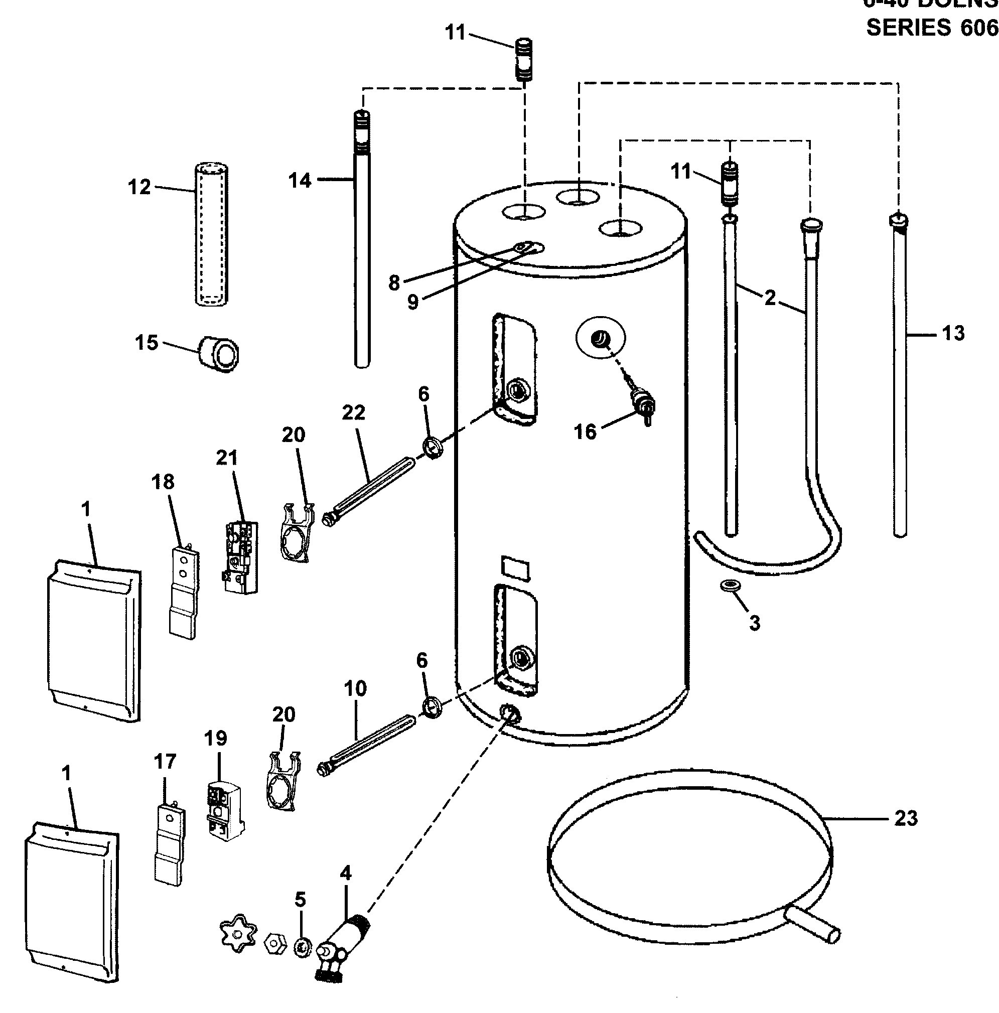 electric water heater wiring diagram Download-Wiring Diagram Electric Water Heater New Electric Water Heater Parts Diagram 6-j