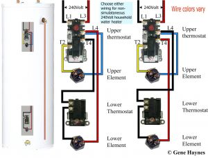 Electric Water Heater Wiring Diagram - Wiring Diagram for Electric Water Heater Save How to Wire A Hot Water Heater Diagram 2d