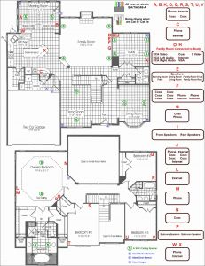 Electrical House Wiring Diagram software - House Wiring Plan Drawing Awesome Electrical Wiring Diagram Symbols Sample 12m