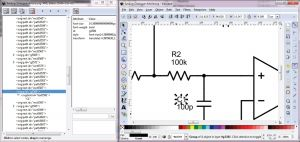 Electronic Wiring Diagram software - Schematic Editing In the Inkscape tool 15s