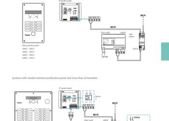 Elvox Intercom Wiring Diagram - Elvox Inter Wiring Diagram Inspirational Bticino Wiring Diagrams 4c