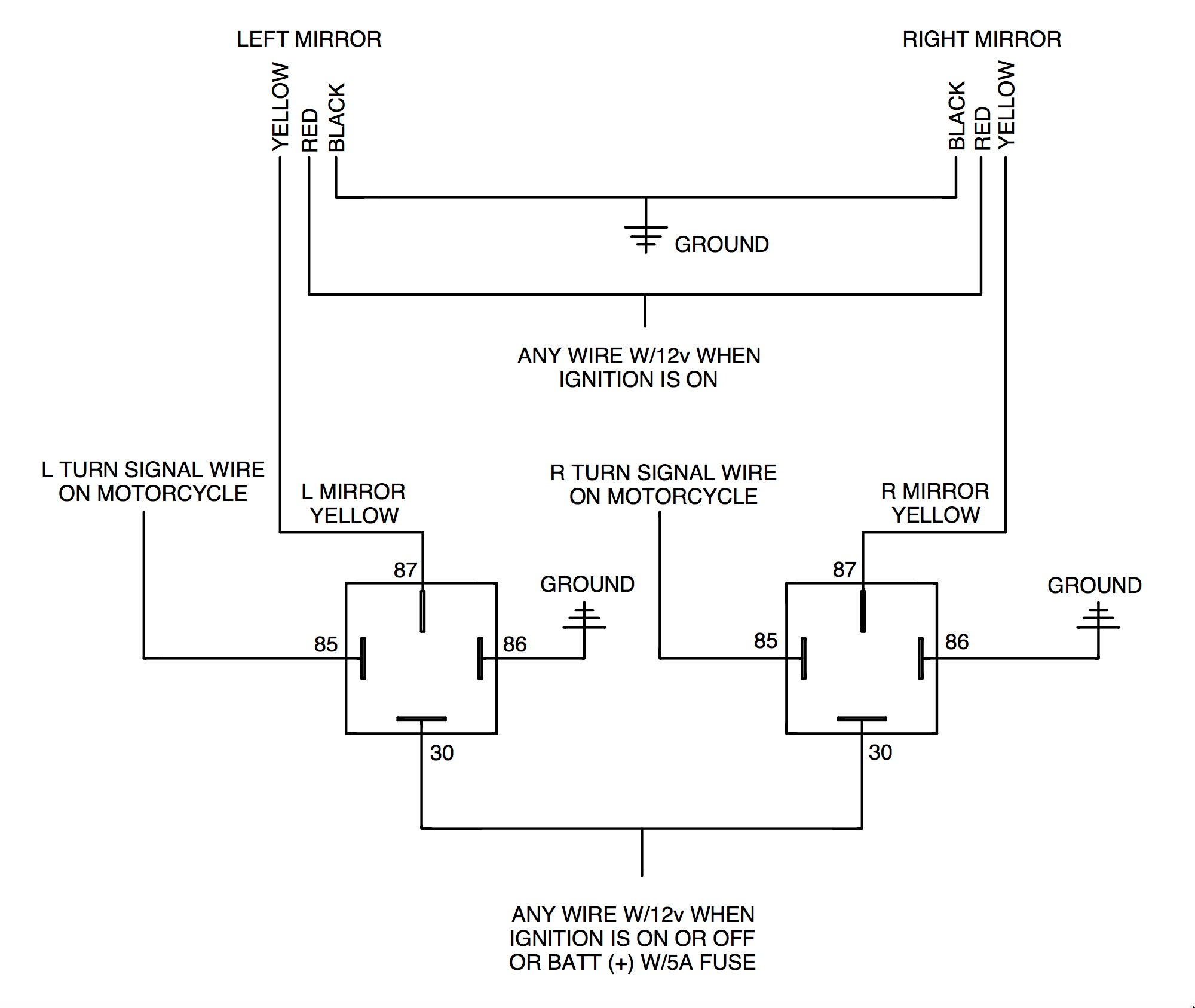 extreme tactical dynamics wiring diagram Download-Rivco dual relay diagram 14-o