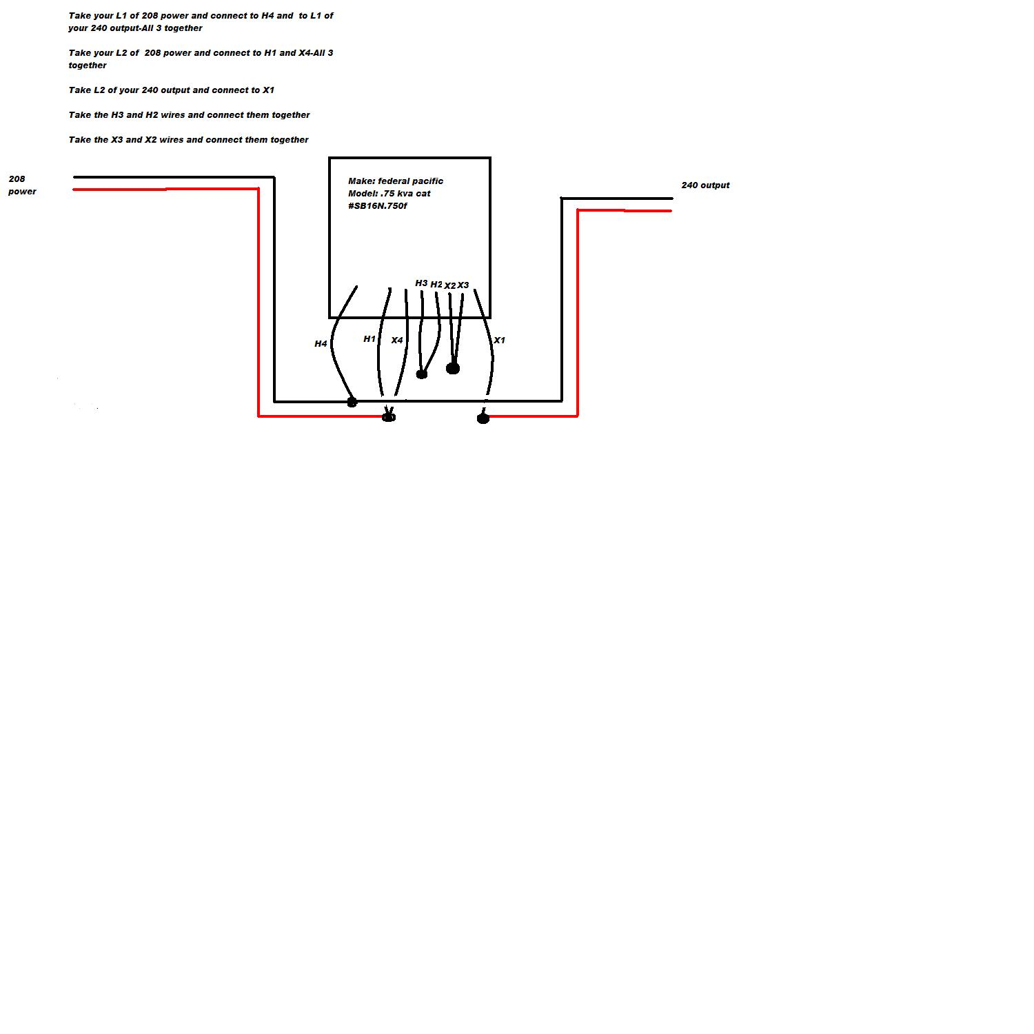 federal pacific buck boost transformer wiring diagram Collection-Federal Pacific Transformer Wiring Diagram Example Electrical 10-o