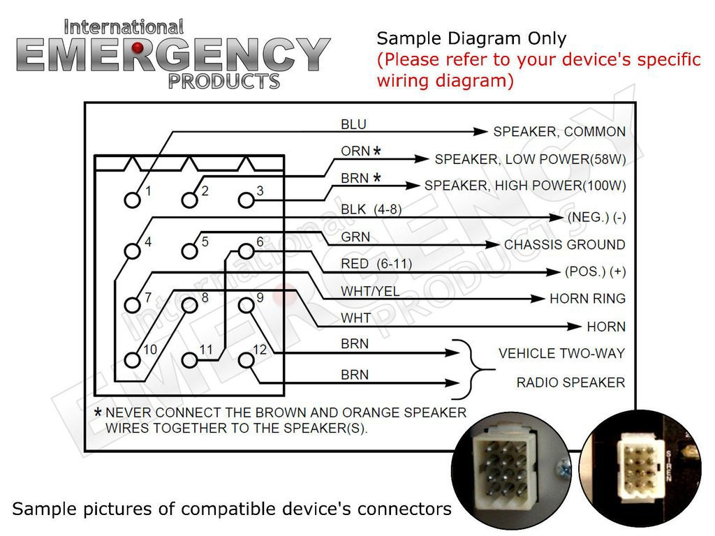 Federal Siren Wiring Diagram - Wiring Diagram Perfomance on