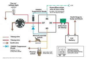 Flex A Lite Electric Fan Wiring Diagram - Electric Fan Wiring Diagram Also Here is the I Used with for 10b