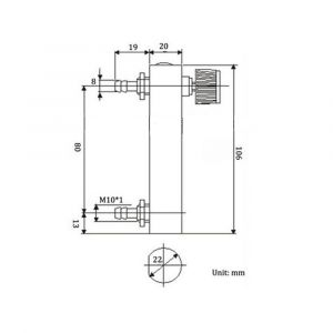 Flow Meter Wiring Diagram - 0 5l Panel Oxygen Flow Meter total Length 106mm Copper Connection Male Od 8mm Free Shipping In Air Purifier Parts From Home Appliances On Aliexpress 16o