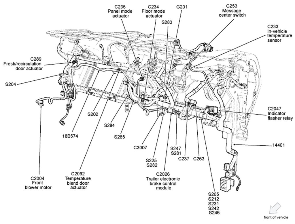 ford f150 engine wiring harness diagram Download-Ford F 150 Wiring Harness Diagram Throughout 13-i