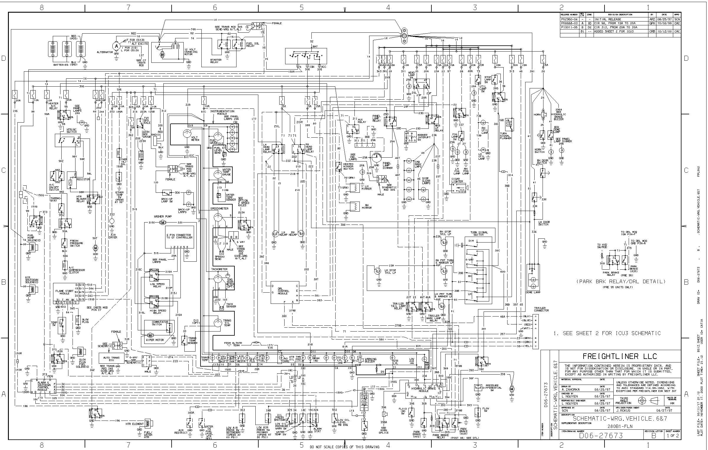 freightliner m2 wiring diagram Download-Access Freightliner Wiring Diagrams Gallery Diagram Also 3-p