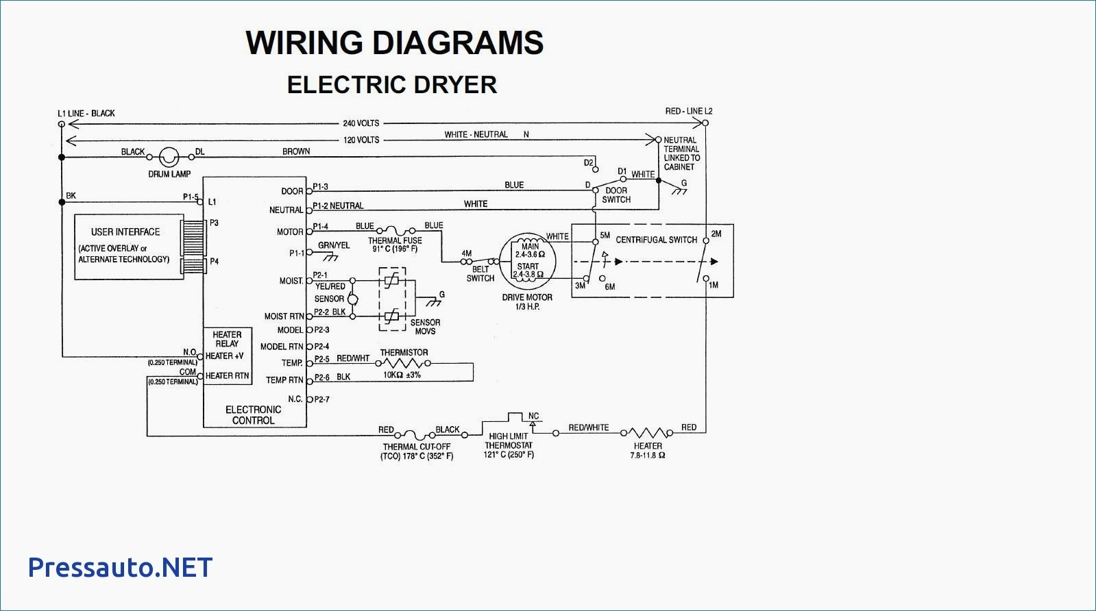 Frigidaire Dryer Wiring Diagram Download