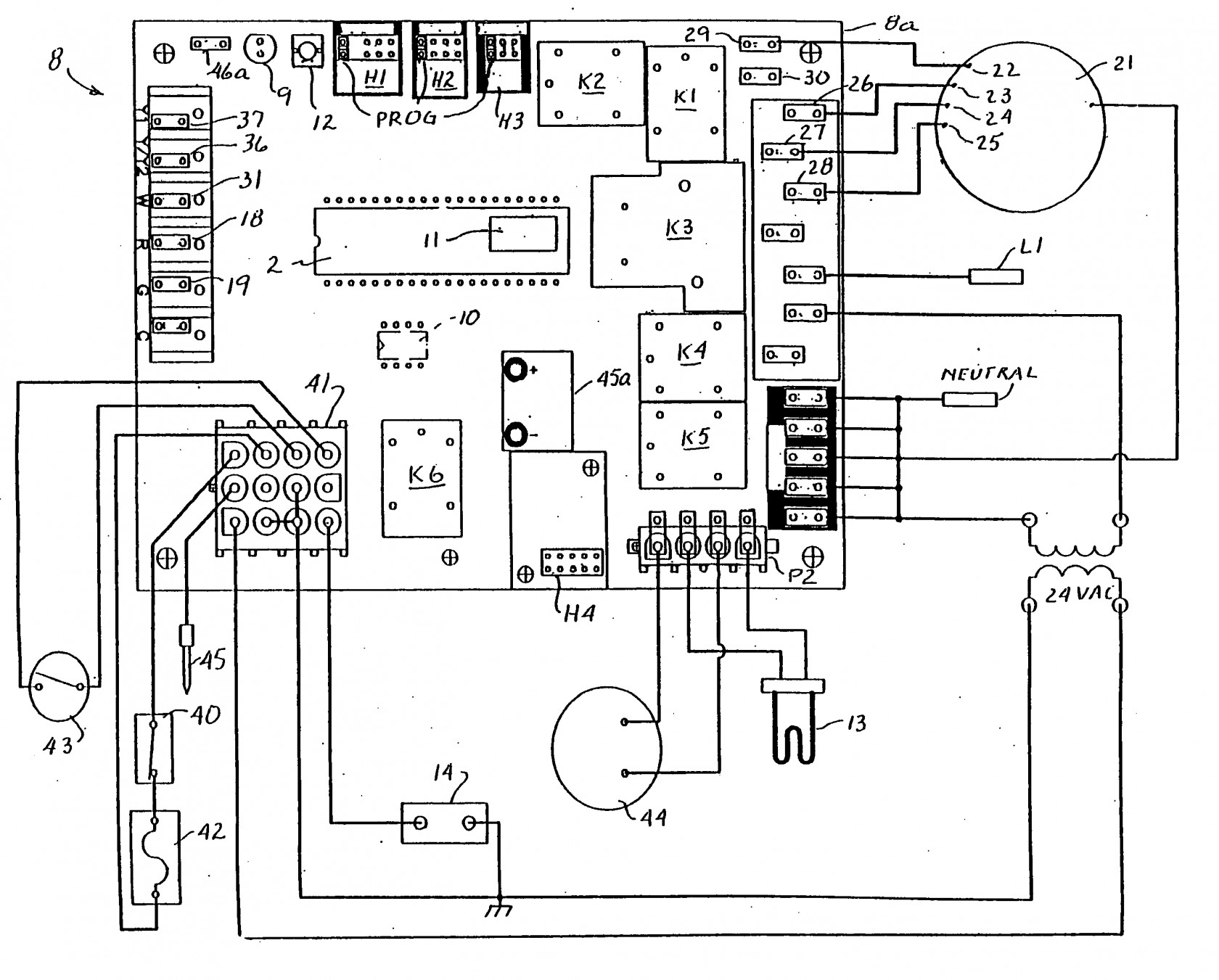 Furnace Control Board Wiring Diagram Download on