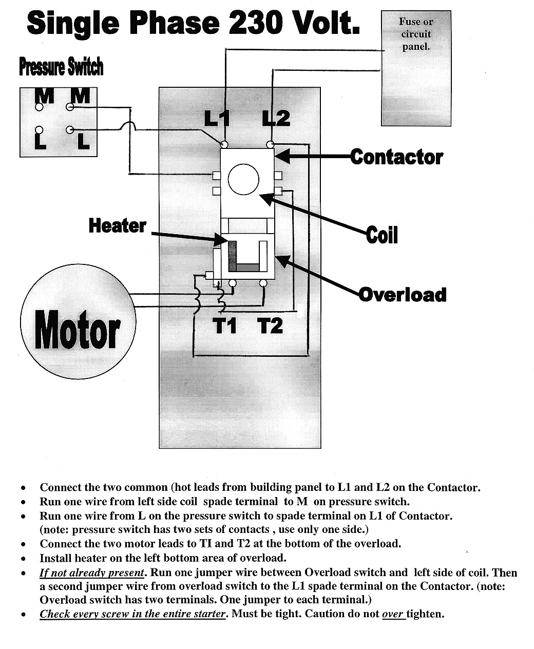 Get Furnas Motor Starter Wiring Diagram Download