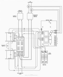 Generac 200 Amp Transfer Switch Wiring Diagram - Automatic Transfer Switch Controller Between Mains and Generator Striking Generac Wiring 17n