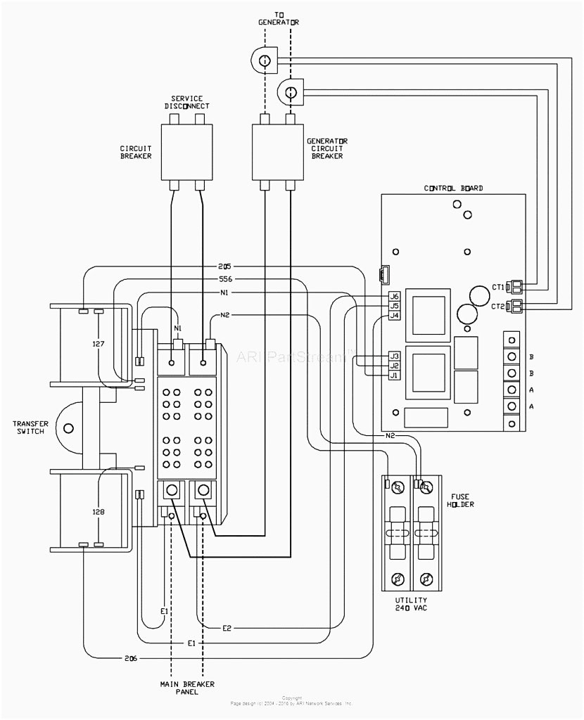 generac automatic transfer switch wiring diagram Collection-Automatic Transfer Switch Controller Between Mains And Generator Striking Generac Wiring 1-s