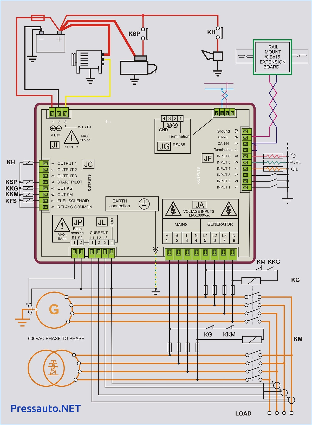 Gallery Of Generac Manual Transfer Switch Wiring Diagram