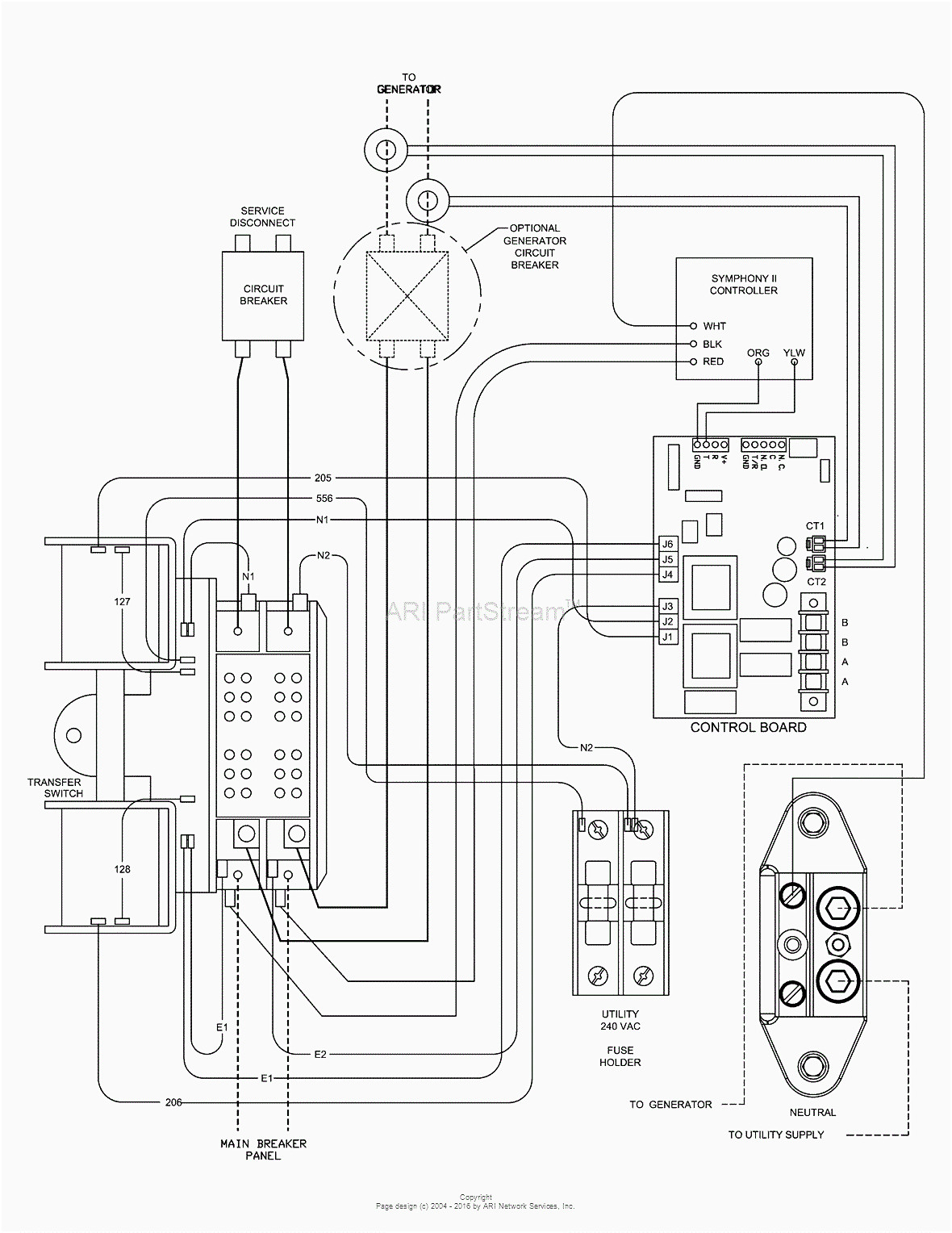 Collection Of Generac Rts Transfer Switch Wiring Diagram Download
