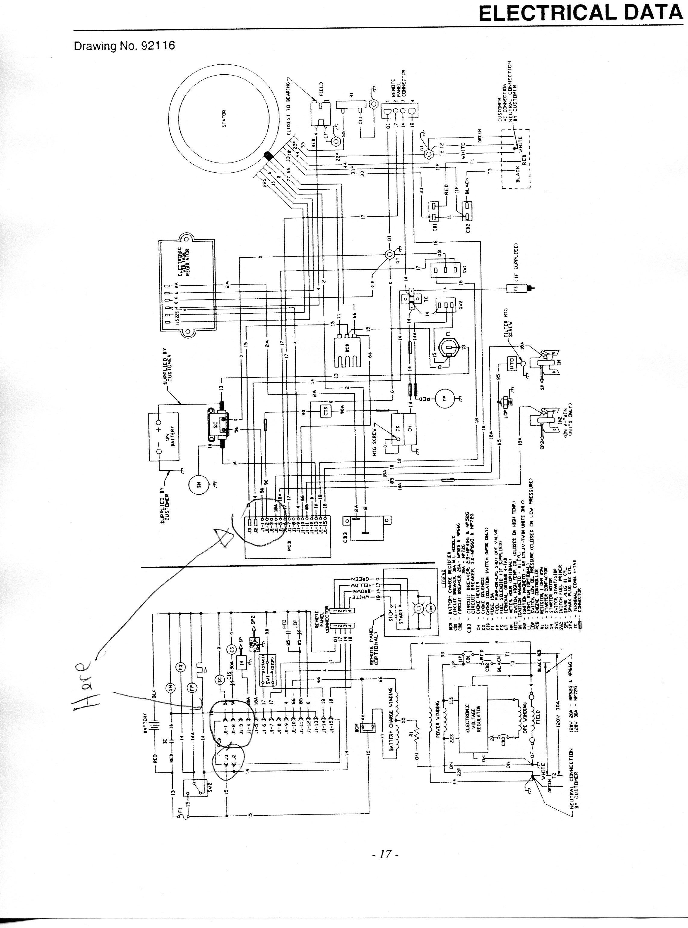 Diagram  Wiring Diagram For Generac Transfer Switch Full