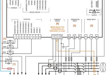 Generator Automatic Transfer Switch Wiring Diagram - Auto Transfer Switch Wiring Diagram 12g
