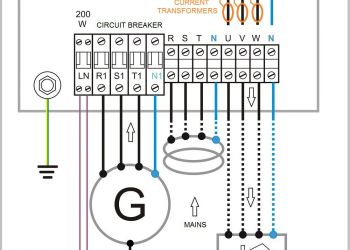 Generator Changeover Switch Wiring Diagram - Generator Automatic Transfer Switch Wiring Diagram Generac with Wiring Diagram for Generator Plug Save Awesome 19b