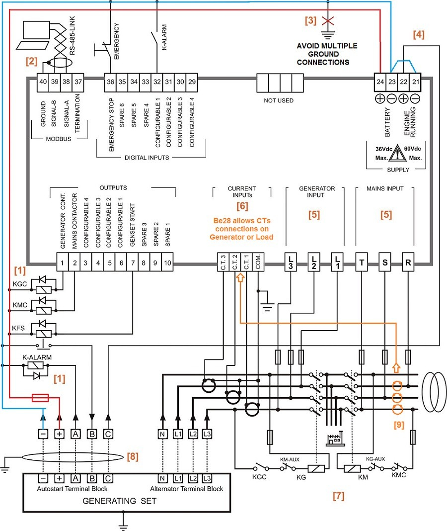 generator transfer switch wiring diagram Download-Auto Transfer Switch Wiring Diagram 7-e