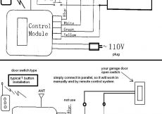 Genie Garage Door Opener Wiring Diagram - Genie Garage Door Opener Wiring Diagram In 9 Natebird Me Beauteous Sensor 8d