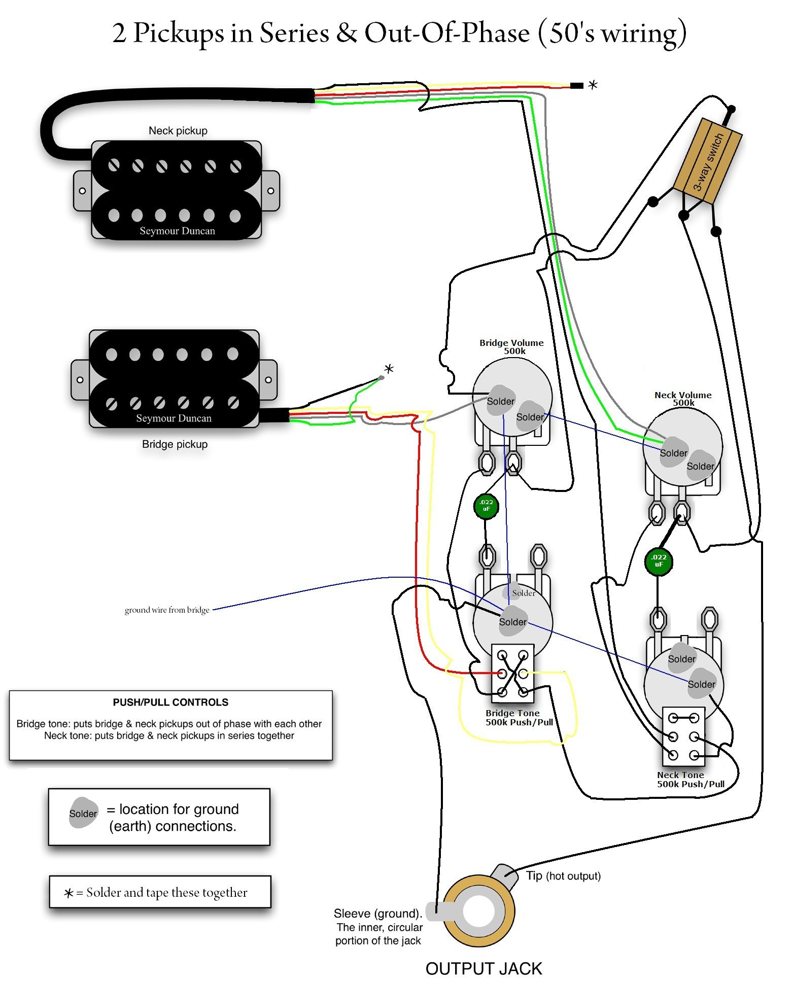 gibson 57 classic 4 conductor wiring diagram Download-wiring diagrams for gibson guitars refrence wiring schematic for rh kobecityinfo gibson guitar pickup wiring 16-t