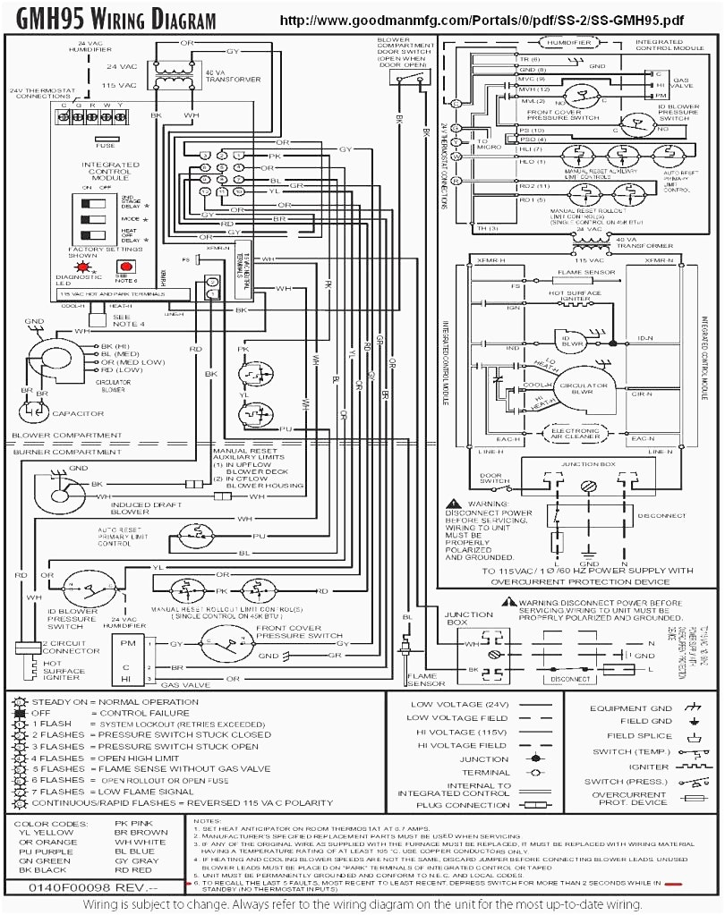 gmp075 3 wiring diagram Collection-Goodman Furnace Wiring Diagram Webtor Me In At Goodman Furnace Wiring Diagram 17-f