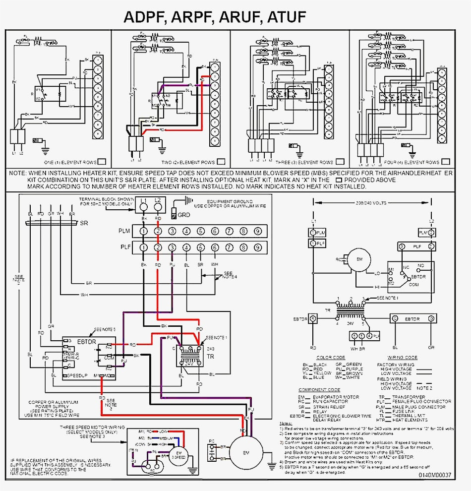 goodman air handler wiring diagram Collection-goodman air handler wiring diagram for ar61 1 example electrical rh cranejapan co Goodman Heat Kit 14-q