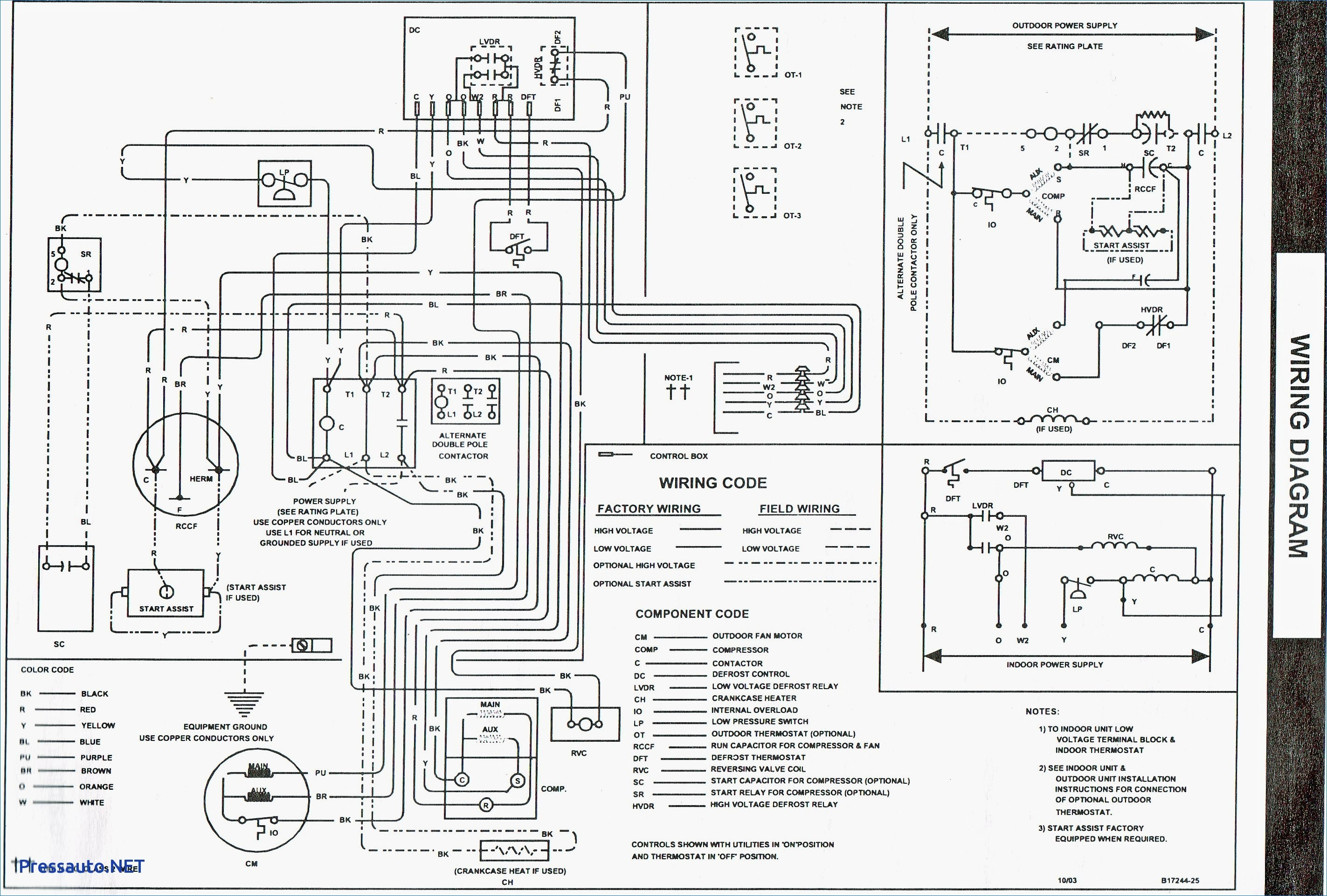Get Goodman Furnace Control Board Wiring Diagram Sample