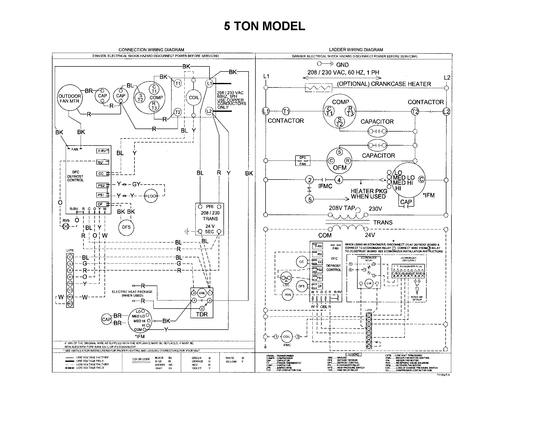 goodman heat pump package unit wiring diagram Download-Goodman Heat Pump Wiring Diagram Elegant Package Unit Incredible 14-b