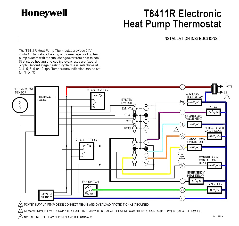 Find Out Here Goodman Heat Pump Thermostat Wiring Diagram Download