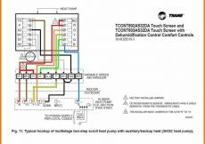 Goodman Heat Pump thermostat Wiring Diagram - Heat Pump Wiring Diagram Heat Pump Wiring Diagrams Goodman Wire Colors thermostat Diagram 11a 15o
