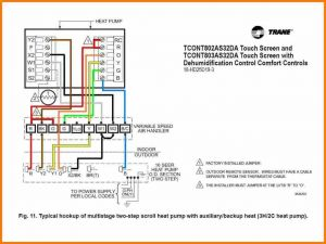 Goodman Heat Pump Wiring Diagram - Goodman Heat Pump thermostat Wiring Diagram Highroadny at Mihella Me for 7t