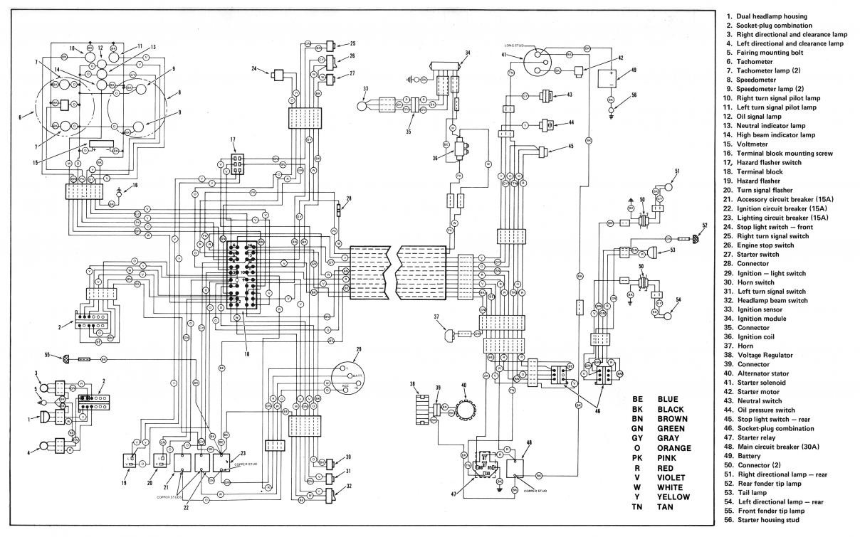 Harley Davidson Schematic Diagram | Wiring Diagram on