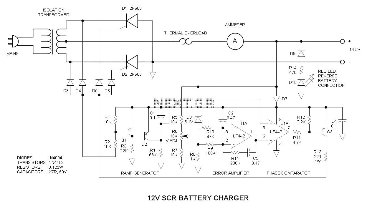 hb600 24b wiring diagram Download-12v battery charger circuit 18-e