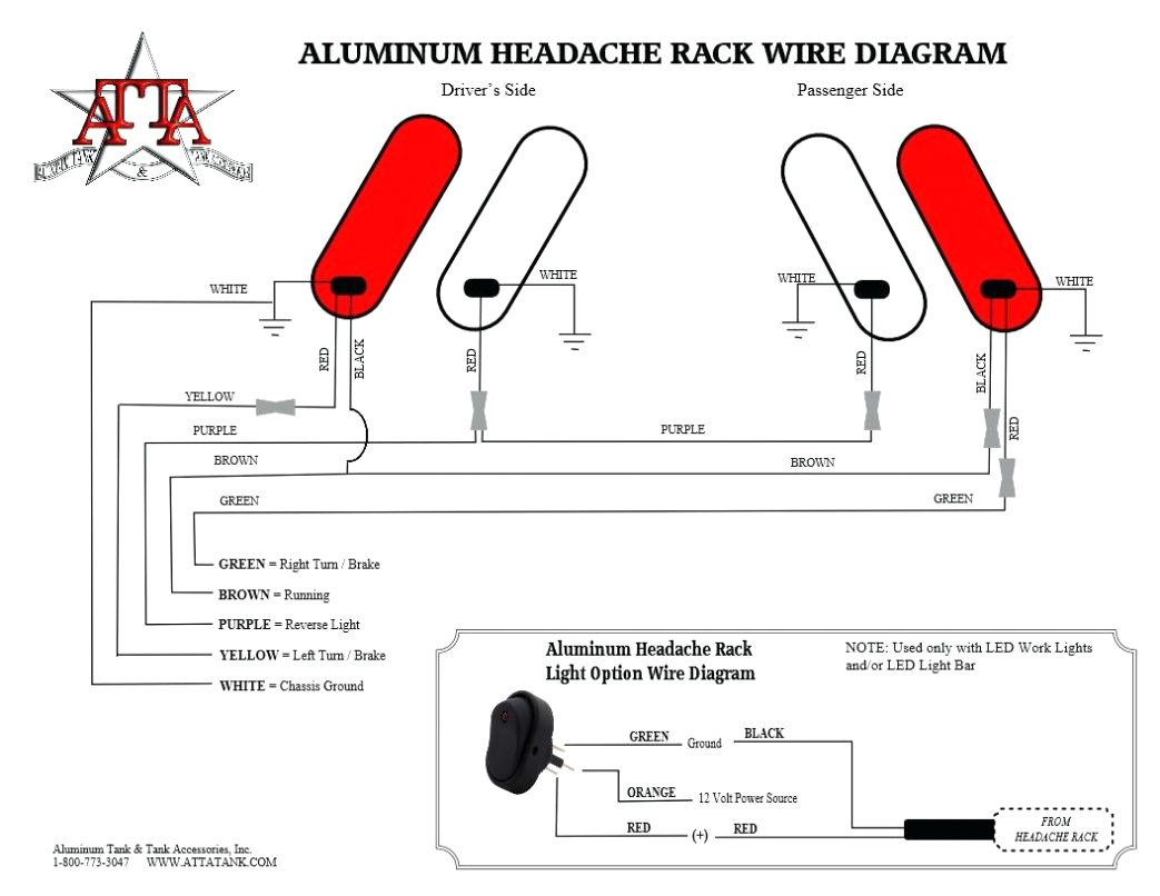 headache rack wiring diagram Collection-free wiring diagram Trailer Tail Light Wiring Diagram Small 5 Pin Plug New Din 17-h