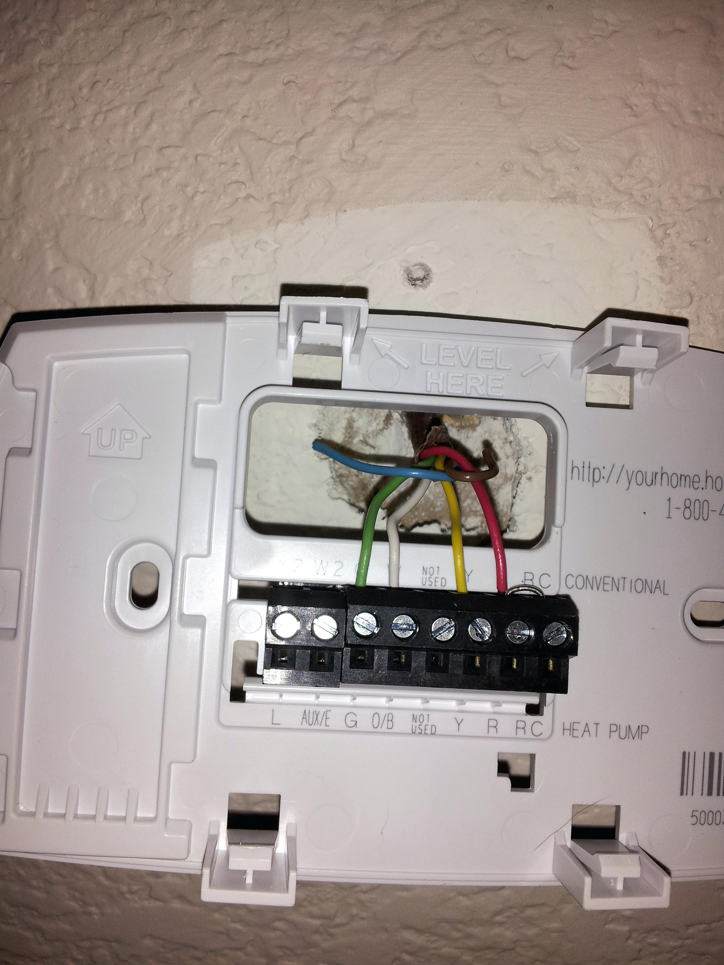 Honeywell Thermostat Rth6350 Wiring Diagram