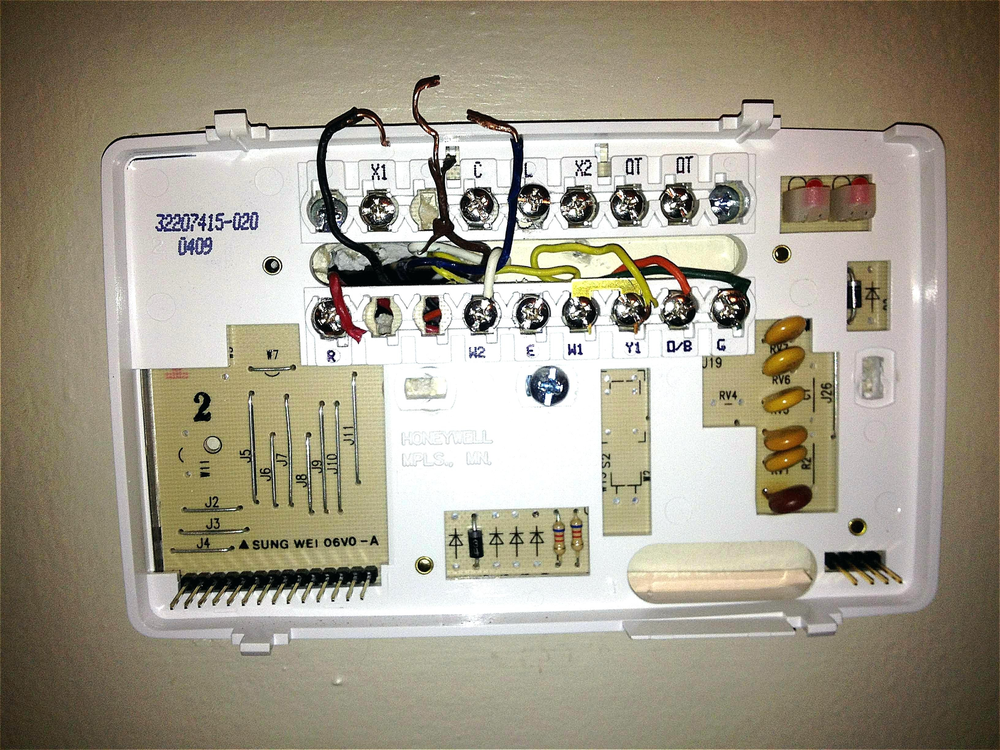Get Honeywell Thermostat Th3110d1008 Wiring Diagram Download