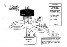 Hunter Ceiling Fan and Light Control Wiring Diagram - Wiring Diagram for A Ceiling Fan with Remote Control Best Hunter Ceiling Fan with Remote Wiring 7f