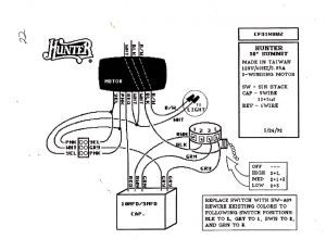 Hunter Ceiling Fan Capacitor Wiring Diagram - Wiring Diagram for Ceiling Fan Speed Switch New Wiring Diagram for Ceiling Fan Switch New Hunter 18a
