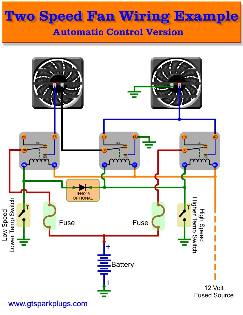 hunter pump start relay wiring diagram Download-Beautiful Electric Fan Relay Wiring Diagram 86 Crutchfield With And For 8-e