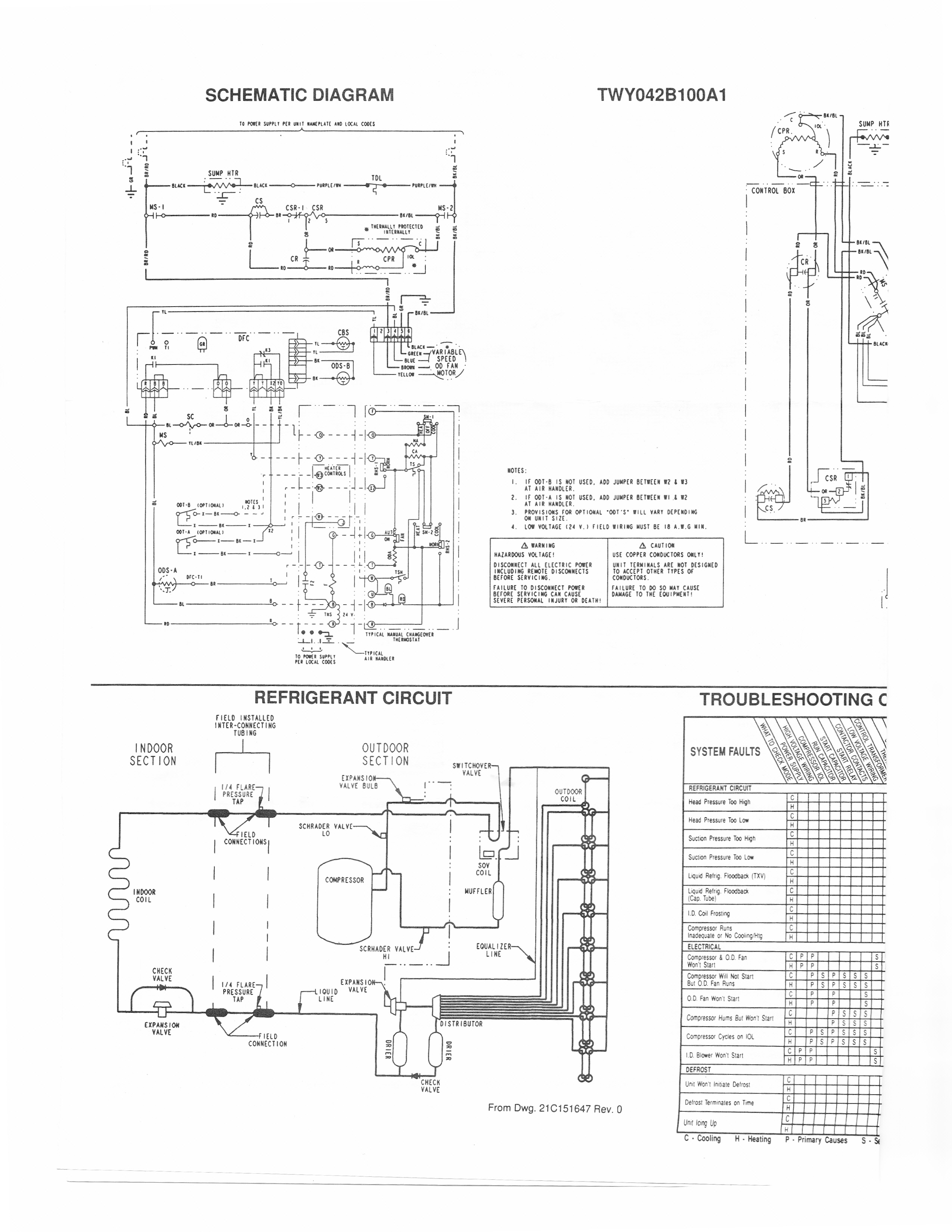 hvac heat pump wiring diagram Download-Trane Air Conditioner Wiring Schematic Handler Diagram For Solidfonts New Heat Pump And Thermostat For Trane Wiring Diagram 16-j